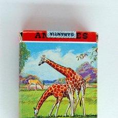 Barajas de cartas: ANTIGUA BARAJA INFANTIL DE FOURNIER. ANIMALES VERTEBRADOS. VIDA Y COLOR. 1968. Lote 43544392