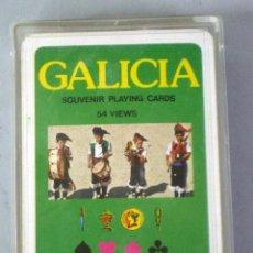 Barajas de cartas: BARAJA PÓKER GALICIA NAIPES COMAS NUEVA PRECINTADA EN CAJA. Lote 43546428