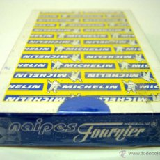 Barajas de cartas: NAIPES BARAJA CARTAS HERACLIO FOURNIER PUBLICIDAD MICHELIN - SIN ABRIR. Lote 43561497