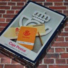 Barajas de cartas: BARAJA FOURNIER CAJA POSTAL POKER. Lote 43603558