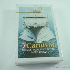 Barajas de cartas: (C)-BARAJA/CARTAS/NAIPES-POKER-NUEVO-CRUCEROS CARNIVAL-VER FOTOS.. Lote 43741852
