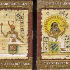 Barajas de cartas: TAROT EGIPCIO - 22 ARCANOS MAYORES. Lote 43788694