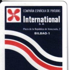 Barajas de cartas: BARAJA ESPAÑOLA PUBLICITARIA CIA PINTURAS INTERNACIONAL-FOURNIER. Lote 43811526