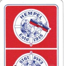 Barajas de cartas: BARAJA ESPAÑOLA PUBLICITARIA PINTURAS HEMPEL-FOURNIER. Lote 43811577