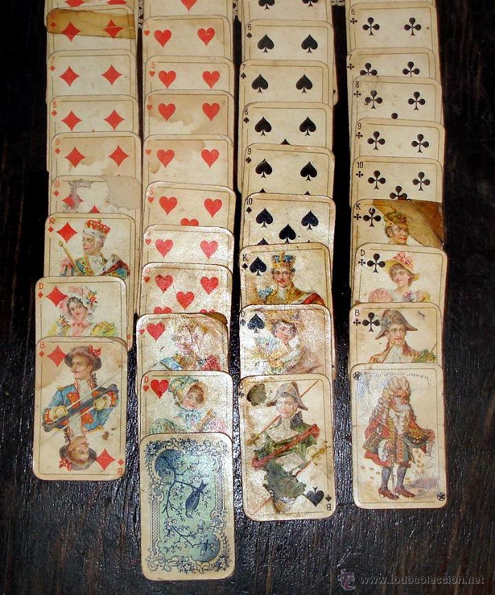 Barajas de cartas: ANTIGUAS RARAS BARAJAS ALEMANAS 2 MAZOS Piatnik & Söhne Kartenstempel 4000 Kronen CIRCA 1920 - Foto 3 - 43838521