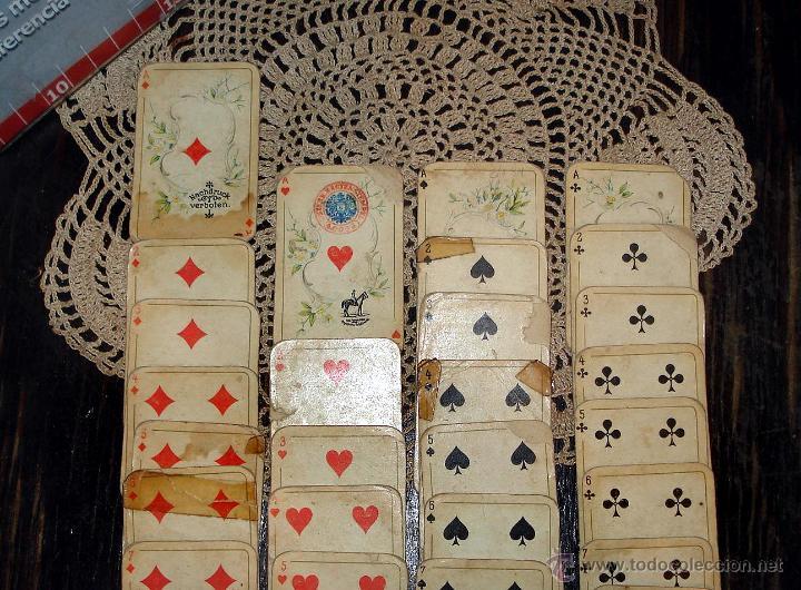 Barajas de cartas: ANTIGUAS RARAS BARAJAS ALEMANAS 2 MAZOS Piatnik & Söhne Kartenstempel 4000 Kronen CIRCA 1920 - Foto 5 - 43838521