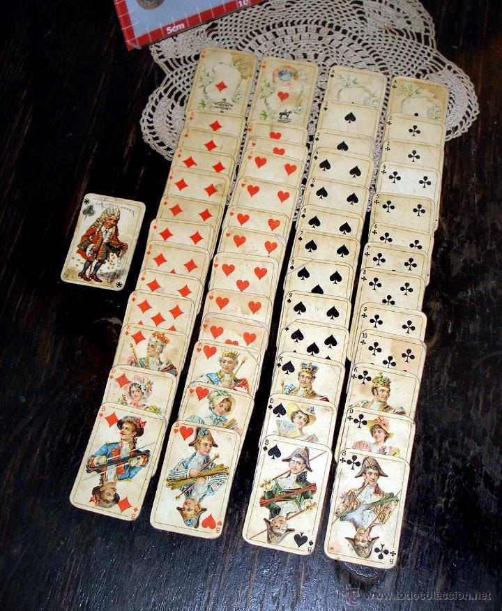 Barajas de cartas: ANTIGUAS RARAS BARAJAS ALEMANAS 2 MAZOS Piatnik & Söhne Kartenstempel 4000 Kronen CIRCA 1920 - Foto 6 - 43838521