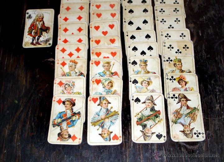Barajas de cartas: ANTIGUAS RARAS BARAJAS ALEMANAS 2 MAZOS Piatnik & Söhne Kartenstempel 4000 Kronen CIRCA 1920 - Foto 7 - 43838521