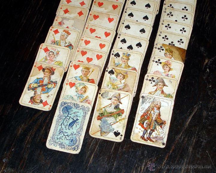 Barajas de cartas: ANTIGUAS RARAS BARAJAS ALEMANAS 2 MAZOS Piatnik & Söhne Kartenstempel 4000 Kronen CIRCA 1920 - Foto 8 - 43838521