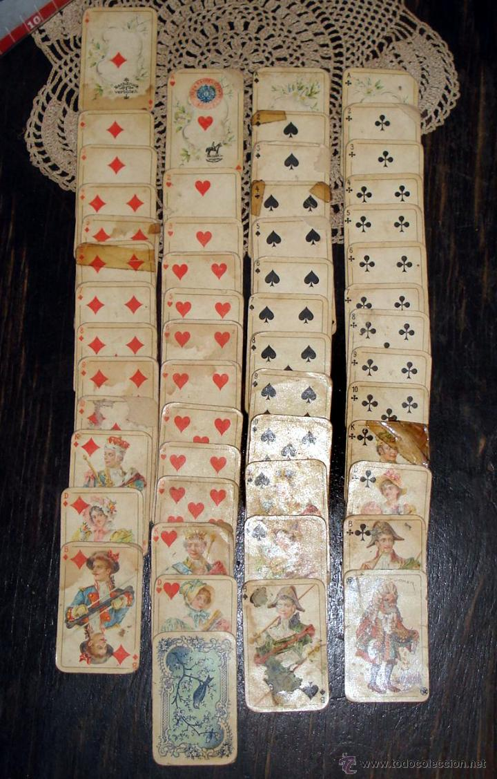 Barajas de cartas: ANTIGUAS RARAS BARAJAS ALEMANAS 2 MAZOS Piatnik & Söhne Kartenstempel 4000 Kronen CIRCA 1920 - Foto 10 - 43838521