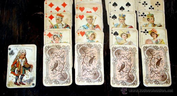 Barajas de cartas: ANTIGUAS RARAS BARAJAS ALEMANAS 2 MAZOS Piatnik & Söhne Kartenstempel 4000 Kronen CIRCA 1920 - Foto 13 - 43838521