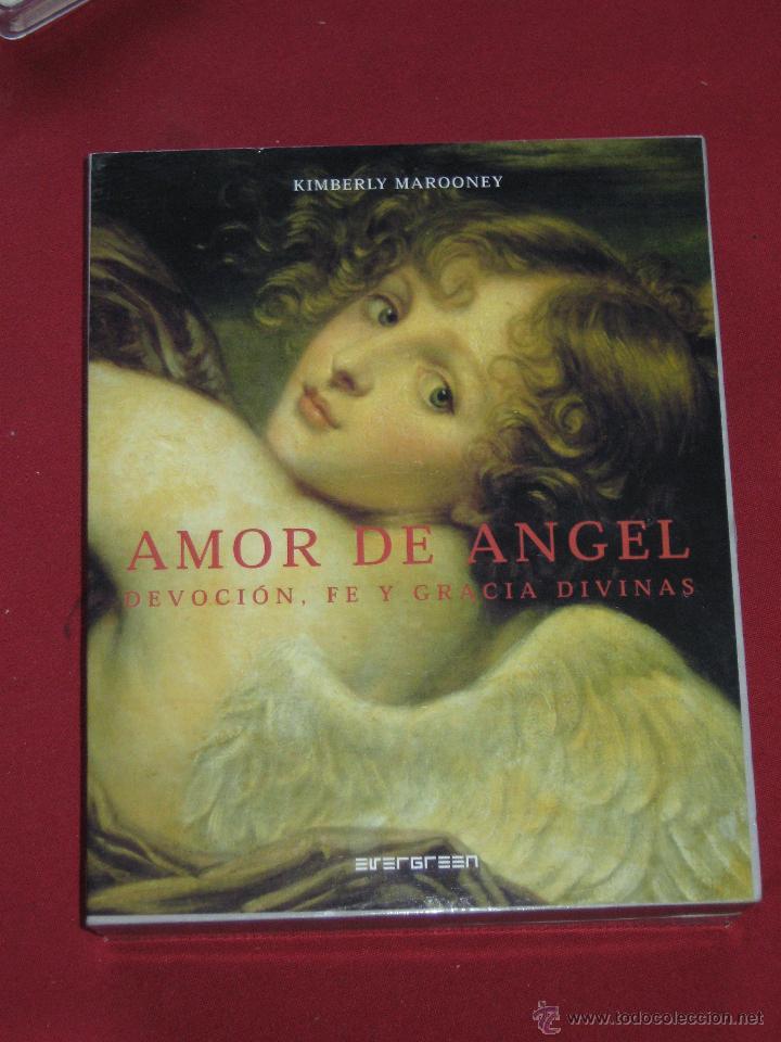 AMOR DE ANGEL - DEVOCION FE Y GRACIA DIVINAS - KIMBERLY MARROONEY - ESTUCHE CON LIBRO Y 40 CARTAS (Juguetes y Juegos - Cartas y Naipes - Barajas Tarot)