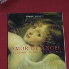Jeux de cartes: AMOR DE ANGEL - DEVOCION FE Y GRACIA DIVINAS - KIMBERLY MARROONEY - ESTUCHE CON LIBRO Y 40 CARTAS. Lote 62694964