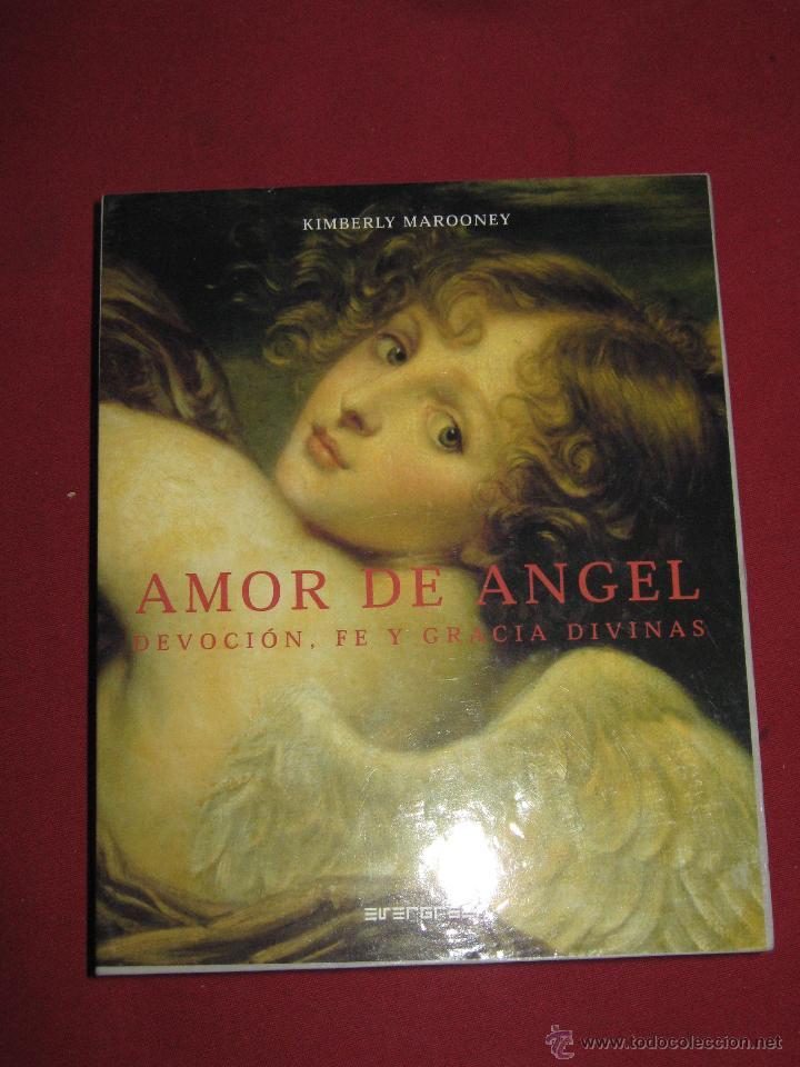 Barajas de cartas: AMOR DE ANGEL - DEVOCION FE Y GRACIA DIVINAS - KIMBERLY MARROONEY - ESTUCHE CON LIBRO Y 40 CARTAS - Foto 2 - 62694964