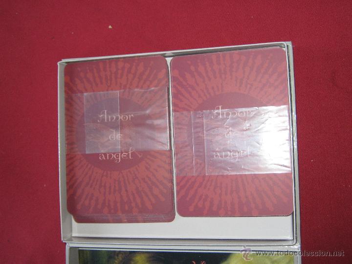 Barajas de cartas: AMOR DE ANGEL - DEVOCION FE Y GRACIA DIVINAS - KIMBERLY MARROONEY - ESTUCHE CON LIBRO Y 40 CARTAS - Foto 4 - 62694964