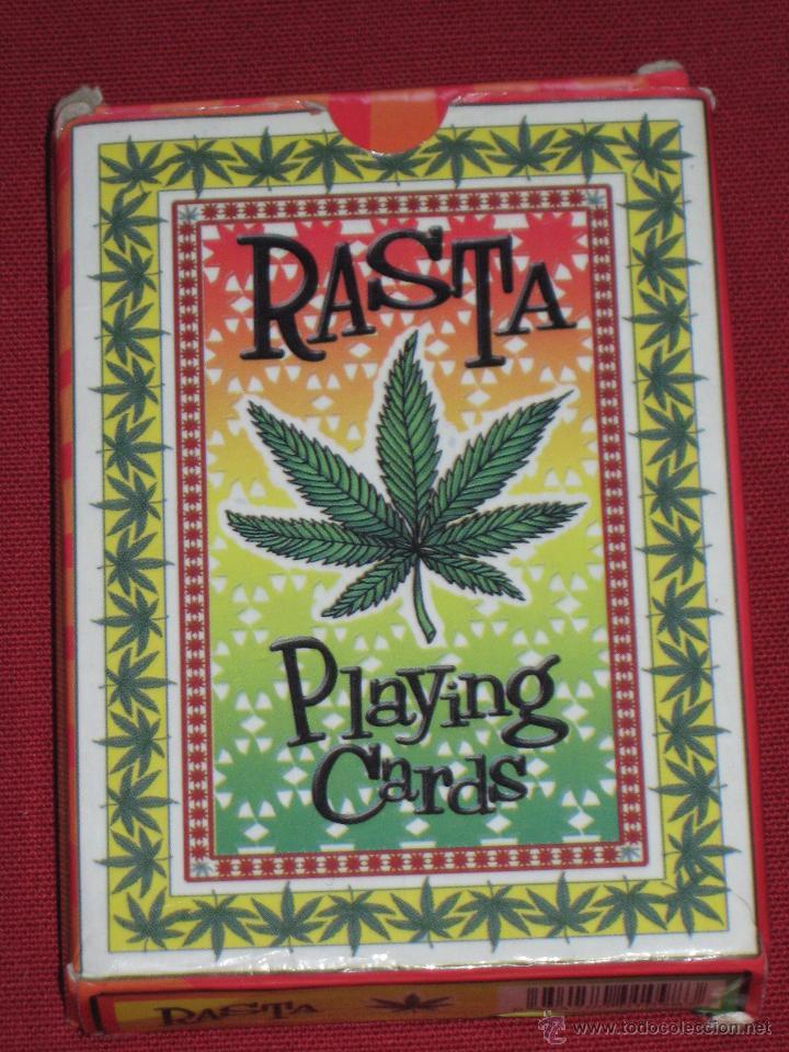 BARAJA CON 54 CARTAS - RASTA - PLAYING CARDS (Juguetes y Juegos - Cartas y Naipes - Otras Barajas)