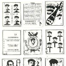Barajas de cartas: JUEGO DE NAIPES - BARAJA DE LOS PELOTARIS - CALEMBARAJA 94. MADRID 1994.. Lote 43984277