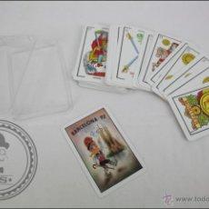 Barajas de cartas: BARAJA DE CARTAS CLÁSICAS. ESPAÑOLA - MONTPER - 50 CARTAS - BARCELONA 92 - DIBUJOS TAURA. Lote 44051534