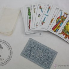 Barajas de cartas: BARAJA DE CARTAS CLÁSICAS. ESPAÑOLA - NAIPES COMAS - 50 CARTAS - NAIPES SAMSÓ, BARCELONA. Lote 44051770