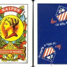 Barajas de cartas: ATLETICO DE MADRID - BARAJA ESPAÑOLA DE 40 CARTAS. Lote 44140760