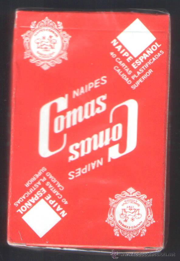 Barajas de cartas: .1 BARAJA ESPAÑOLA DE ** RECREATIVOS IGLESIAS ** COMAS -- 40 CARTAS - PRECINTADA - Foto 2 - 44145454