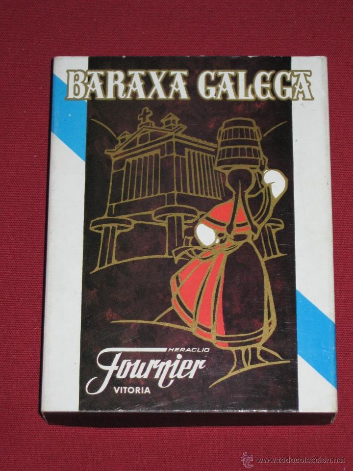 BARAJA DE CARTAS DE FOURNIER - BARAJA GALLEGA - BARAXA GALEGA (Juguetes y Juegos - Cartas y Naipes - Otras Barajas)