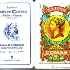 Barajas de cartas: CARTES CANTEN MUSEU L'HOSPITALET - BARAJA ESPAÑOLA 50 CARTAS. Lote 44184151