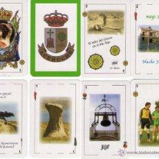 Barajas de cartas: JUEGO DE NAIPES REGIONAL - ACEHÚCHE - NEGSA., BARCELONA 2001.. Lote 154248404