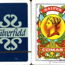 Barajas de cartas: SILVERFIELD - BARAJA ESPAÑOLA 40 CARTAS. Lote 44223547
