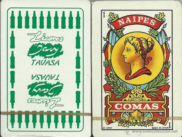 LICORES TAVASA - BARAJA ESPAÑOLA 40 CARTAS (Juguetes y Juegos - Cartas y Naipes - Baraja Española)