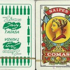 Barajas de cartas: LICORES TAVASA - BARAJA ESPAÑOLA 40 CARTAS. Lote 44227442