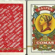 Barajas de cartas: RADIOLA - RADIO CASTILLA - BARAJA ESPAÑOLA 40 CARTAS. Lote 44227534