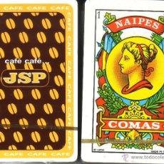 Barajas de cartas: CAFE JSP - BARAJA ESPAÑOLA 40 CARTAS. Lote 44227578