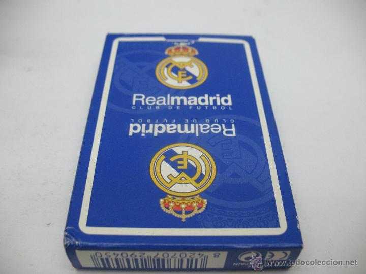 Barajas de cartas: Baraja de cartas Real Madrid,Heraclio Fournier - Foto 3 - 44253586