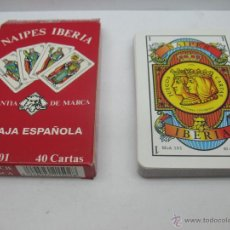 Barajas de cartas: BARAJA DE 40 CARTAS,MODELO 101, NAIPES IBERIA. Lote 44253669