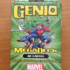 Barajas de cartas: GENIO CARDS MEGADECK MARVEL. PACK DE 40 CARTAS. BIZAK. - PB2. Lote 44262890