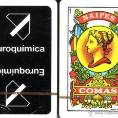Barajas de cartas: EUROQUIMICA - BARAJA ESPAÑOLA 50 CARTAS. Lote 44281220