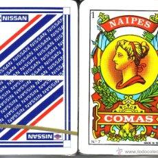 Barajas de cartas: NISSAN - BARAJA ESPAÑOLA 50 CARTAS. Lote 44281312