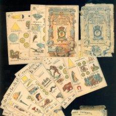 Barajas de cartas: NAIPES 0030 NAIPES INSTRUCTIVOS BARAJA RECREO INFANTIL PALAMÓS FALTAN 3 BARAJA CARTAS. Lote 44301337