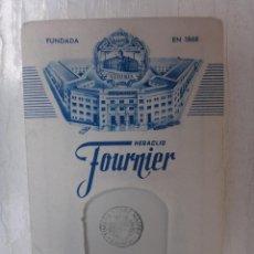 Barajas de cartas: BARAJA NAIPES , FOURNIER , REVERSO AZUL , 1962 , SIN USAR , ORIGINAL. Lote 44303811