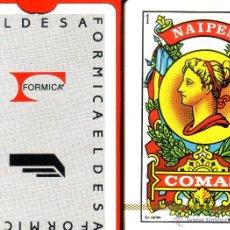 Barajas de cartas: FORMICA ELDESA - BARAJA ESPAÑOLA 50 CARTAS. Lote 143176789