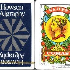 Barajas de cartas: HOWSON ALGRAPHY - BARAJA ESPAÑOLA 50 CARTAS. Lote 44307087