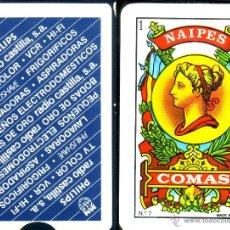 Barajas de cartas: PHILIPS - RADIO CASTILLA - BARAJA ESPAÑOLA 40 CARTAS. Lote 44318166