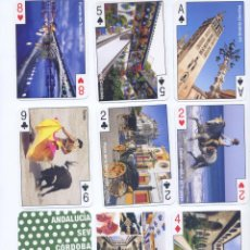 Barajas de cartas: BARAJA DE POKER TURISTICA DE ANDALUCIA. Lote 47495809