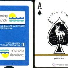 Barajas de cartas: CAMPING VALL D'OR - BARAJA POKER. Lote 44421115