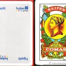 Barajas de cartas: TIPOLIT HUBER GROUP - BARAJA ESPAÑOLA 50 CARTAS. Lote 44431600