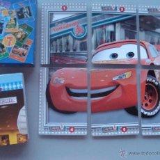 Jeux de cartes: BARAJA DE CARTAS INFANTIL. 7 PUZZLES DE PELÍCULAS DISNEY. CARS, RATATOUILLE, PETER PAN, REY LEÓN. Lote 44447689