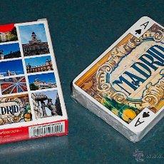 Barajas de cartas: BARAJA DE CARTAS DE PÓKER MADRID. Lote 146191552