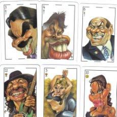 Barajas de cartas: BARAJA ESPAÑOLA CARICATURAS DE EL JUEVES-FOURNIER-AÑO 2012. Lote 113625083