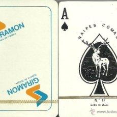 Barajas de cartas: GIRAMON - BARAJA POKER. Lote 44466652